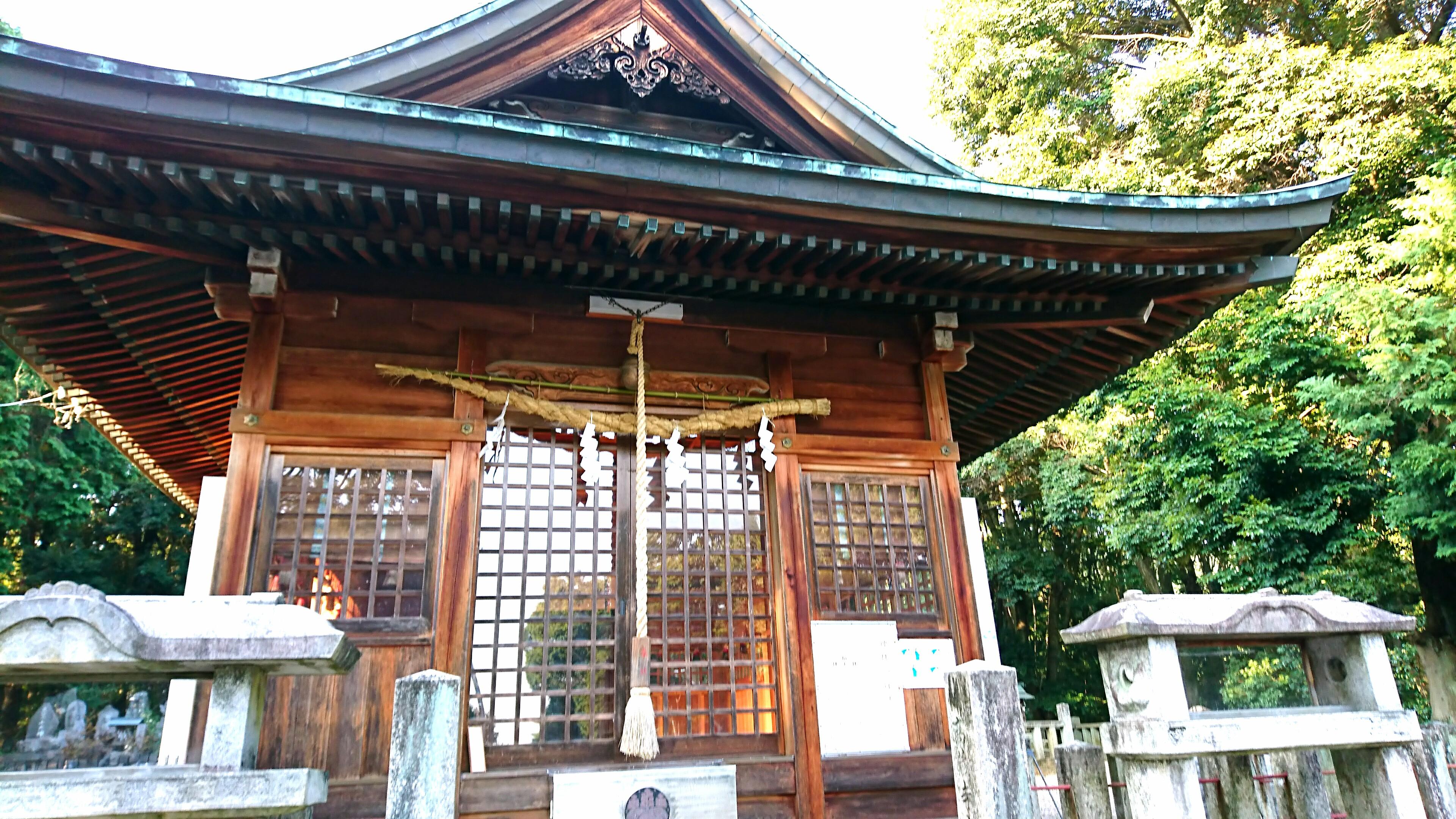 五社大明神社 拝殿