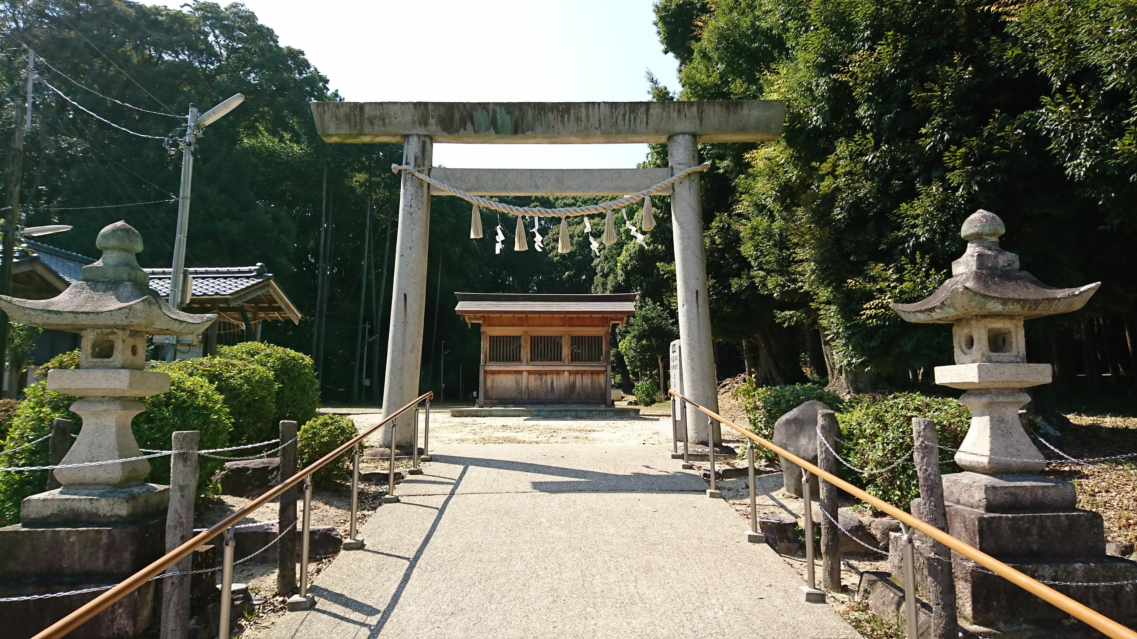 五社神社 正面