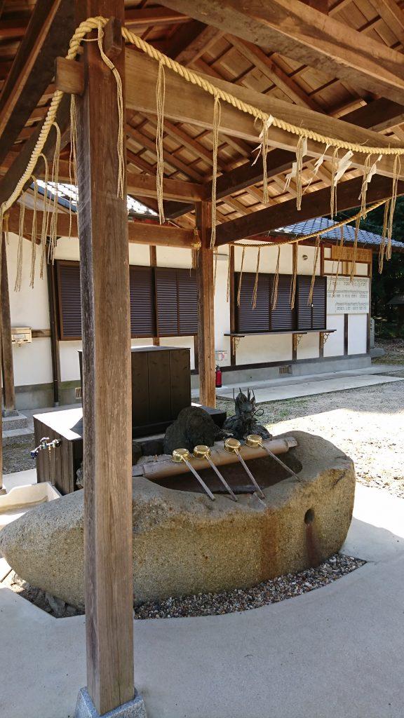 五社神社 水舎