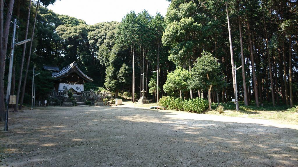 五社神社 拝殿の周り