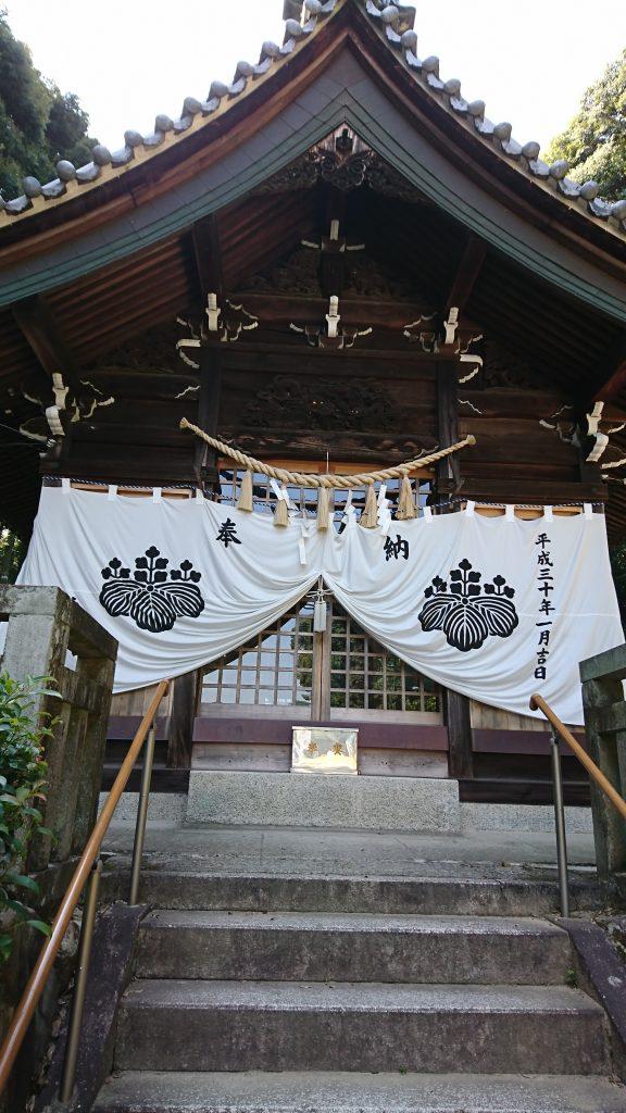 五社神社 拝殿