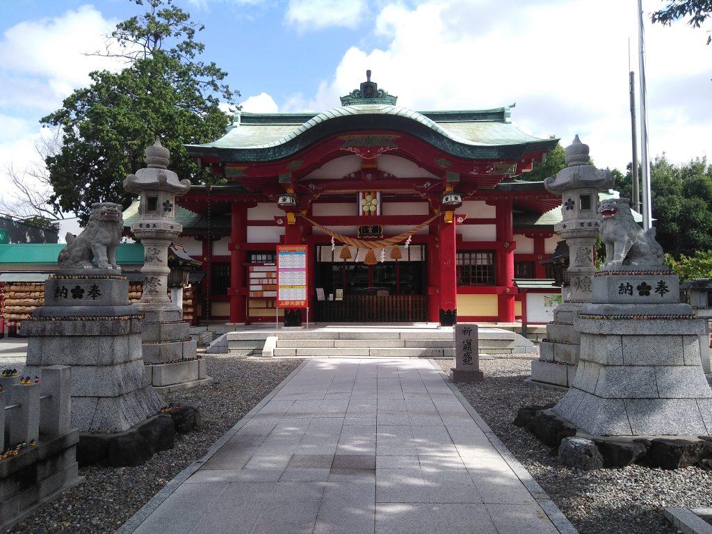 上野天満宮 本殿1