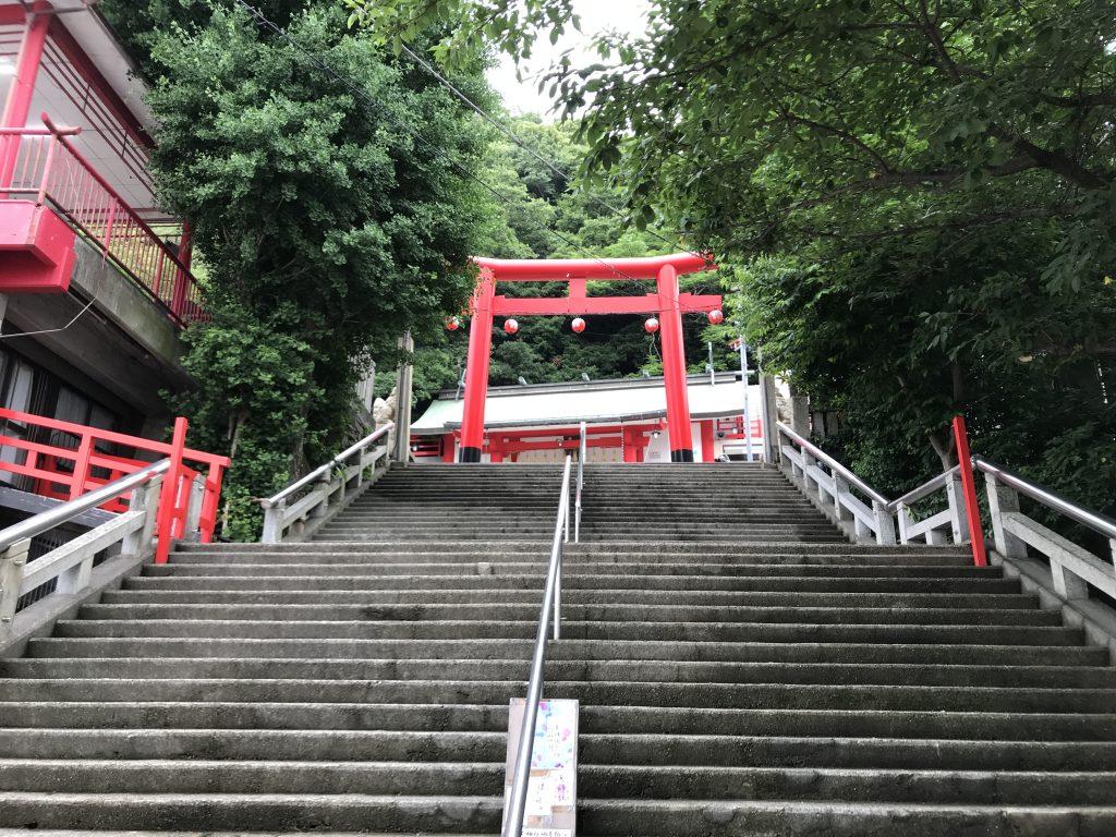 徳島眉山天神社 徳島駅近く